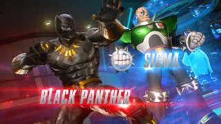Marvel Vs Capcom Infinite - Black Panther And Sigma Gameplay Trailer
