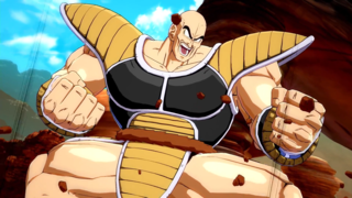 Dragon Ball FighterZ - Nappa Character Gameplay Trailer