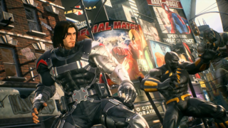 Marvel Vs. Capcom Infinite - Winter Soldier, Black Widow And Venom Character Gameplay