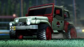 Rocket League - Jurassic World Car Pack Trailer