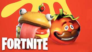 Fortnite Battle Royale - Food Fight Trailer