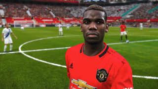 PES 2020: PS4 Pro Gameplay - Man United Vs. PES Legends