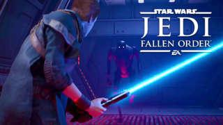 E3 2019 -- Star Wars Jedi: Fallen Order's Lightsaber Combat Revealed During EA Play