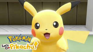 Pokémon: Let's Go, Pikachu! And Let's Go, Eevee! - Pokéball Plus Gameplay Trailer | E3 2018