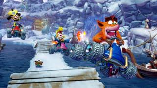 Crash Team Racing: Nitro Fueled - Dominating Win In Tiger Temple   E3 2019