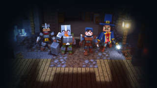 Minecraft Dungeons Reveal Trailer   Microsoft Press Conference E3 2019