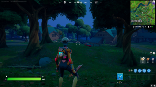 Fortnite: Where To Interact With A Dead Drop In Weeping Woods