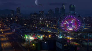 E3 2014: Grand Theft Auto V on PS4 at Sony Press Conference