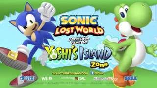 Sonic Lost World - Yoshi's Island DLC