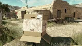 Metal Gear Solid V: The Phantom Pain - Snake In A Box Gamescom 2014