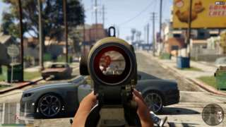 Grand Theft Auto V: First Person Experience