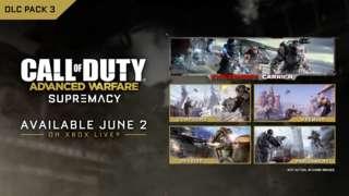 Call of Duty: Advanced Warfare - Supremacy DLC 3 Gameplay Trailer