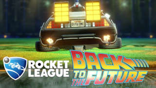 Rocket League - Back to the Future DLC Pack