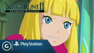 Ni No Kuni II: Revenant Kingdom - Playstation Experience 2015