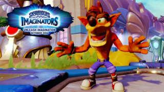 Skylanders Imaginators - Official E3 2016 Crash Bandicoot Reveal