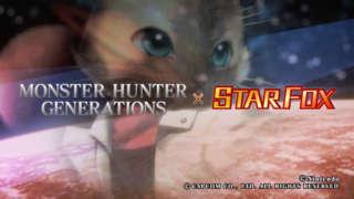 Monster Hunter Generations - Star Fox Trailer