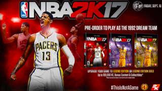 NBA 2K17 - The Dream Lives On Trailer