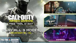 Call of Duty: Infinite Warfare – Free Trial Event Announcement Trailer