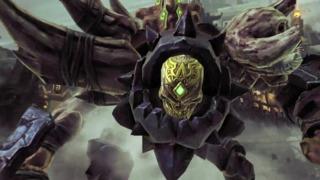 Gnashor Boss Fight - Darksiders II Sneak Peek Video