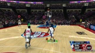 NBA 07 Gameplay Movie 4