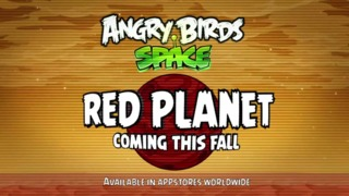 Angry Birds Space - Red Planet Teaser Trailer