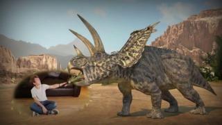 Wonderbook: Walking With Dinosaurs - Gamescom 2012 Trailer