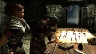 World Art - The Elder Scrolls V: Skyrim Trailer