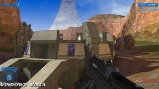 Halo 2 Graphics Comparison: Windows Vista vs. Xbox Video Feature