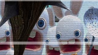 Rayman Raving Rabbids Gameplay Movie 5