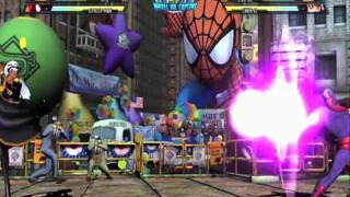 Marvel vs. Capcom 3: Fate of Two Worlds - Storm and C. Viper Gameplay 1