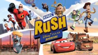 Kinect Rush: A Disney-Pixar Adventure Announcement Trailer