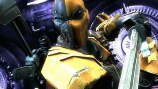 Injustice: Gods Among Us - Deathstroke Trailer