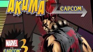 Marvel vs. Capcom 3: Fate of Two Worlds Akuma Gameplay Movie