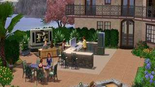 The Sims 3: Outdoor Living Stuff Launch Trailer
