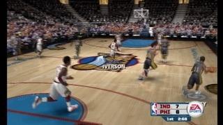 NBA Live 06 Gameplay Movie 5