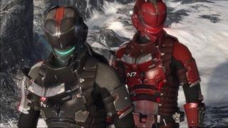 Dead Space 3- Mass Effect N7 Armor Trailer