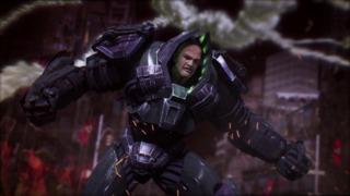 Injustice: Gods Among Us Lex Luthor Reveal Trailer