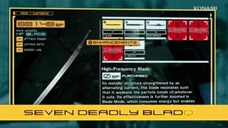 Metal Gear Rising: Revengeance - High-Frequency Blades Trailer