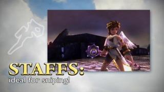 Weapons - Kid Icarus: Uprising Gameplay Trailer