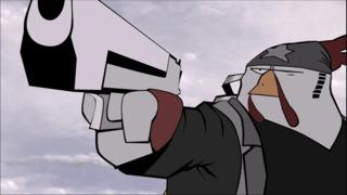 Rocketbirds: Hardboiled Chicken - Official Vita Trailer