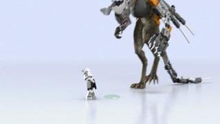 LEGO Star Wars III: The Clone Wars - Little Clone Pooper Trailer