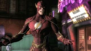 Injustice: Gods Among Us - Flash vs Shazam Gameplay Trailer