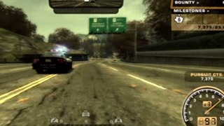 Need for Speed Most Wanted Gameplay Movie 9