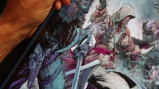 Assassin's Creed IV: Black Flag - Making of Poster Art