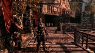 Kinect Support - The Elder Scrolls V: Skyrim Trailer