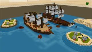 Guncraft Pirate Bay - Build It Play It