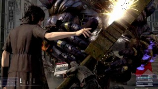 Final Fantasy XV - Battle Gameplay First Look