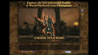 The Lord of the Rings: War in the North Champions Trailer