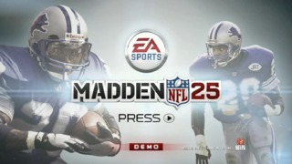 Madden 25 - Demo Now Available