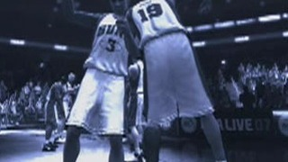 NBA Live 07 Gameplay Movie 1